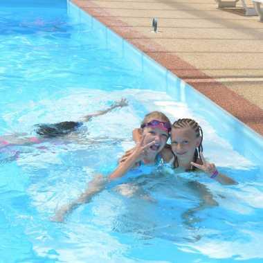 baignade enfants piscine du camping chatelaillon-plage