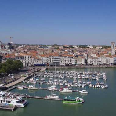 vieux port dans le centre-ville de la rochelle