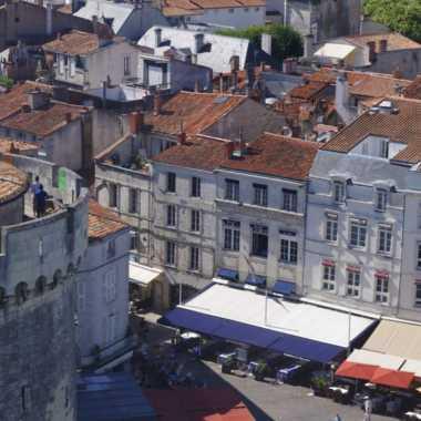 vieux port de la rochelle tour de la chaîne cmt17 a. birard